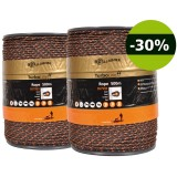Gallagher Duopack TurboLine cord terra 2x500m