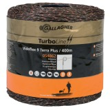Gallagher Vidoflex 9 turboline plus terra 400m