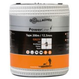 Gallagher PowerLine lint 12,5mm wit 200m