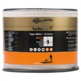 Gallagher TurboLine lint 12,5mm wit 400m