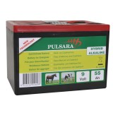 Pulsara 9V/ 55Ah batterij high energy