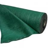 Winddoek met zeilogen 150cm 50m groen