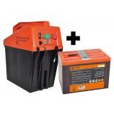 Gallagher B35 schrikdraadapparaat tijdelijk met GRATIS Powerpack batterij OP=OP