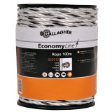 Gallagher EconomyLine cord wit 100m
