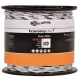 Gallagher EconomyLine cord wit 200m