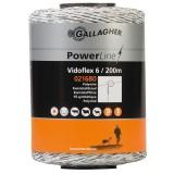 Gallagher Vidoflex 6 wit 200m