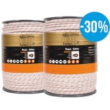Gallagher Duopack TurboLine cord wit 2x500m PROMO