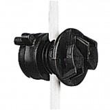 Gallagher schroefisolator zwart ø4-10mm (20x)