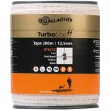 Gallagher TurboLine lint 12,5mm wit 200m