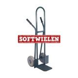 Steek-krattenwagen PRO 300kg softwiel