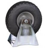 Lucht bokwiel pro 300x4 metaal