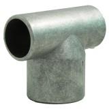 T-stuk Ø60- 42mm aluminium
