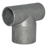 T-stuk Ø60- 42mm aluminium V&T