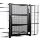 Enkele poort Carre K10 b100 x h150cm