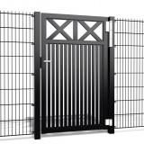 Enkele poort Crosso V60 b100 x h150cm