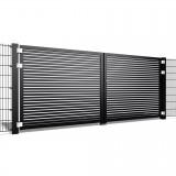 Dubbele poort Trento H40 b200 x h150cm