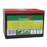 Pulsara 9V/ 55Ah alkaline batterij compact
