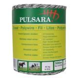 Pulsara kunststofdraad 500m 6 RVS draden wit