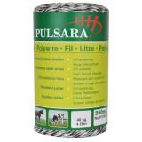 Pulsara kunststofdraad 250m 9 RVS draden wit