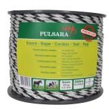 Pulsara koord 200m, 6 RVS wit