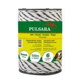 Pulsara koord 500m, 6 RVS wit