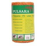 Pulsara kunststof draad 250m 3 RVS oranje