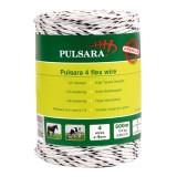 Pulsara flex koord 500m. 2 RVS wit