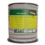 Pulsara lint 40mm 4RVS draden 1 koperdraad 200m wit