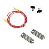 Pulsara aansluitkabel lint 40mm, met 130 cm kabel OP=OP