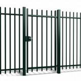 Enkele poort Arena h100 x b100cm gecoat greenline
