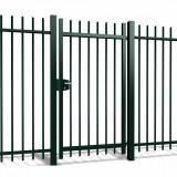 Enkele poort Orion h100 x b100cm gecoat greenline