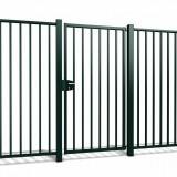 Enkele poort Tyro h100 x b100cm gecoat greenline