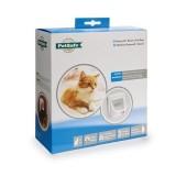 Cat Flap Magnetic 400 met halsbandmagneet wit