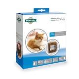 Cat Flap Magnetic 420 met halsbandmagneet bruin